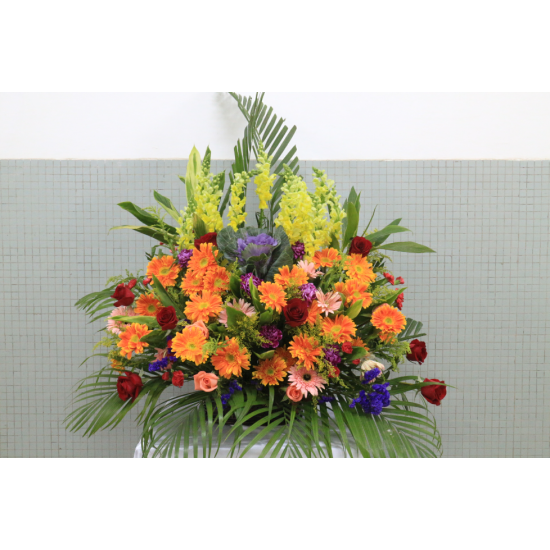 Table Flowers arrangement for Shop Opening