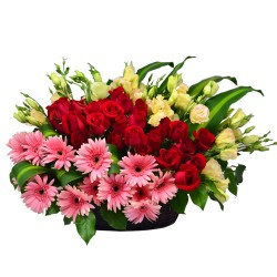 Colorful World Flower arrangement