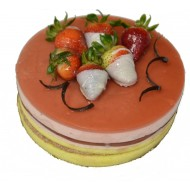 Strawberry Mousse Cake (1Lb)